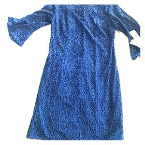 🆕Leslie Fay royal blue dress size 6